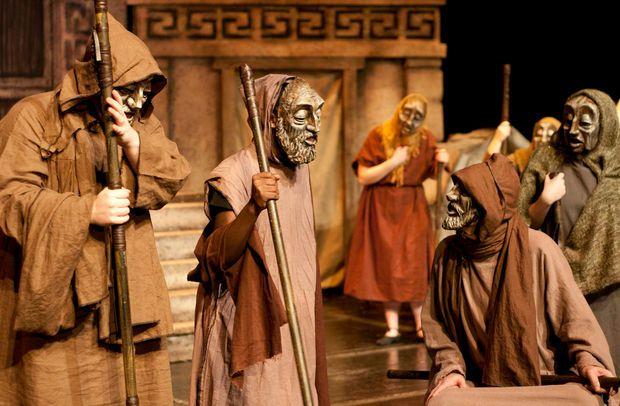 Antik Yunan Oyunundan Bir Kesit