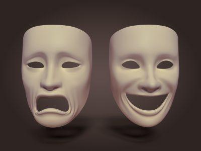 Gülen Ağlayan Tiyatro Maskeleri