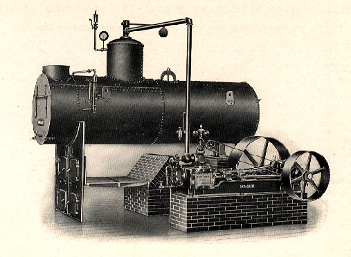 İlk Buhar Motorlarından