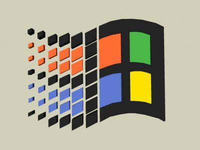 Microsoft eski Logo