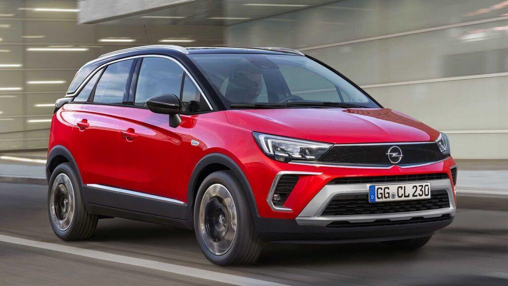 Opel Arabaların Listesi