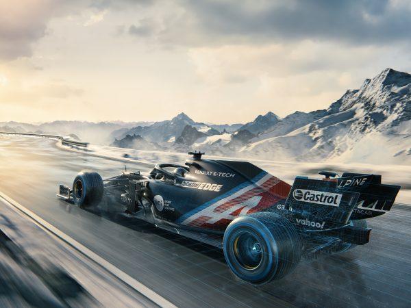 Alphina F1 Aracının İlk Görüntüleri
