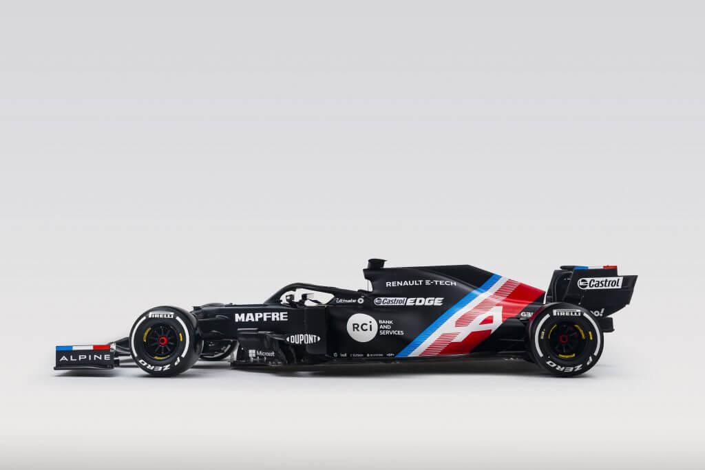 Alpine Formula 1 Aracı Yeni Tasarımı