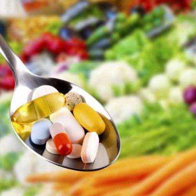 vitamin ve mineral tekviyesi